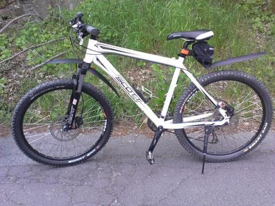 Schwalbe Smart Sam 2.25 Reifen montiert auf einem Fahrrad