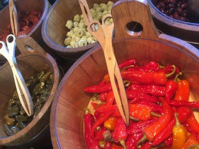 Kulinarische Köstlichkeiten. Knoblauchzehen