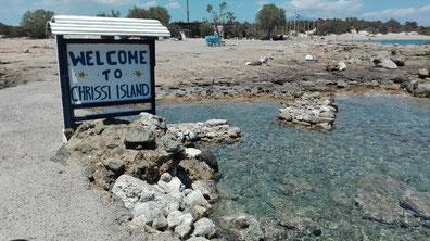 Insel Chrissi Kreta