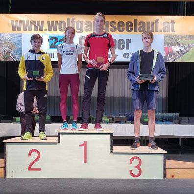 Florian Gaube als Sieger der Klasse U-18