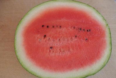 Wassermelone für Mojito mit Minze