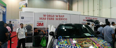 FESPA México 2015, World Wrap Masters , Centro Banamex, Innovación Gráfica, Rotulación Vehicular