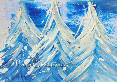 Weihnachtskarte inklusive Spende für die Stiftung Sternschnuppe