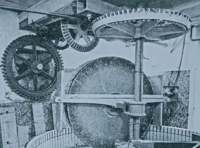 Zigermühle mit Antrieb
