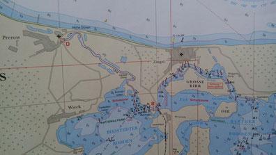 Karte Prerow
