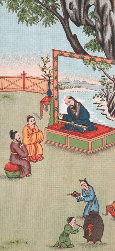Fig. 13. Henri DORÉ (1859-1931) : Recherches sur les superstitions en Chine. Tome XIII.A. Vie de Confucius illustrée. Variétés sinologiques n° 49, Zi-ka-wei, 1918.