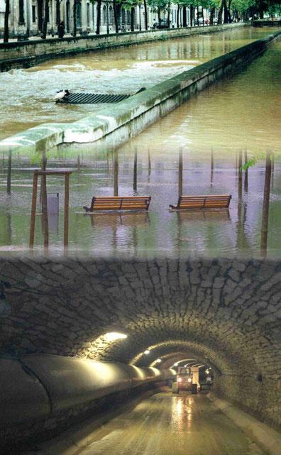 Inondation nîmes 1988