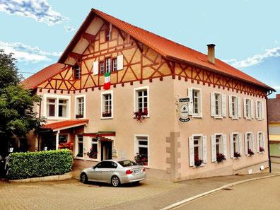 Pizzeria und italienisches Restaurant in Tannenkirch. Im Markgräflerland in Südbaden