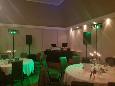 Technik bei DJ Jan, Technik Hochzeit DJ