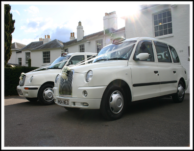 Modern TX Wedding Taxis Pembroke Lodge Richmond Surrey