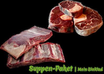 Suppen-Paket Mein BioRind | Beinscheibe & Suppenfleisch