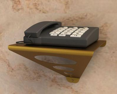Console murale design pour téléphone fixe