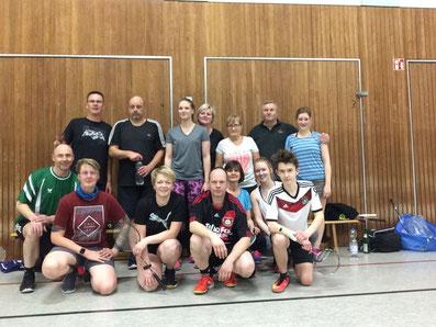 Badminton immer Donnerstags ab 19Uhr