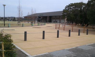 萩 明倫館横 中央広場