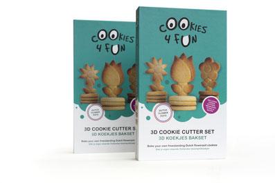 Kerst_SALE_Cookies4fun - 3D koekjes bakset