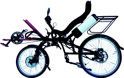 Single Recumbent Pedelec TWOgether