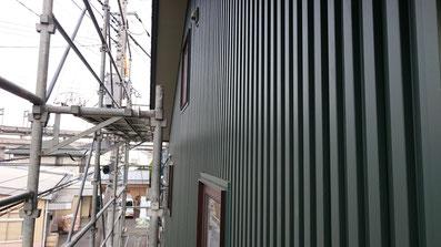 スパンドレル 角スパン カラーガルバリュウム鋼板