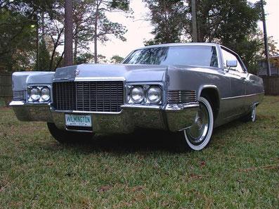 1970`er Cadillac Calais Limousine