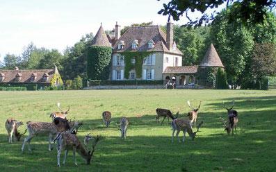 Les Grilles, voisin du parc animalier de Boutissaint