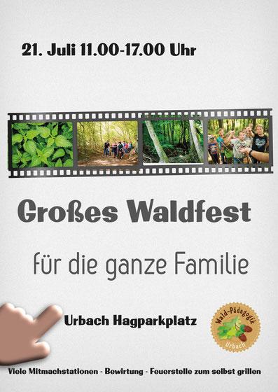 Urbacher Waldfest am 21. Juli 2019