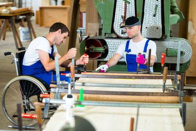Inklusion Ausbildung Arbeit Aachen Berufsschule Behinderung