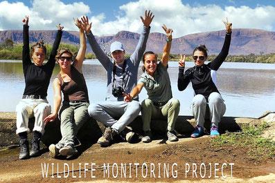 Vrijwilligers in Zuid-Afrika