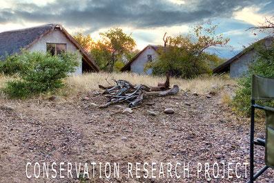 Huisjes in de Afrikaanse bush