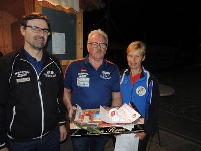 3. Platz ESC ASKÖ Wiener Möwen mit Svaljug Roland und Godri Karl