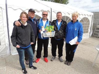 4.Platz: Pozarek, Pfundner A., Palecek R., Andre T.