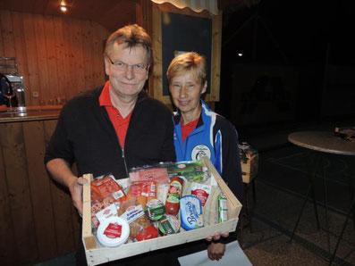 2. Platz: ESV Perlesreut mit Geier Erich und Zdrahal Andrea