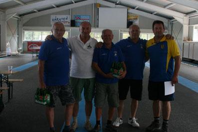 Beste Hohenauer Mannschaft: Hohenau 1 auf Platz 2