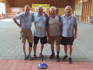 Hohenau 4: Jursa Walter, Schira Edi, Kadlec Robert, Mokesch Ewald