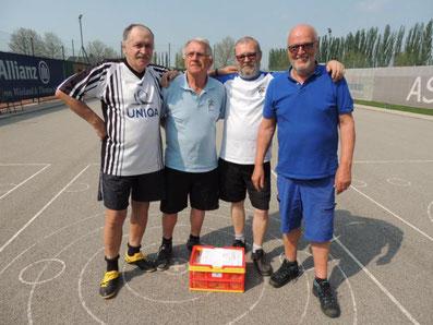 3. Platz : Benedik Alfred, Mokesch Ewald, Palecek Roman und Kaiser Alfred