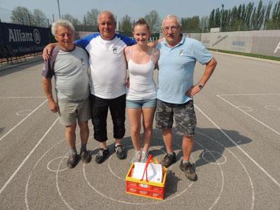 2. Platz: Kadlec Robert, Pfundner Albert, Pozarek Sabrina und Schubtschik Johann
