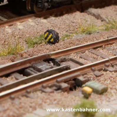 DB Gleissperrsignal Zugdeckungssignal Spur N 1:160