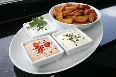 Saucen von Mardin Kebab, Heide