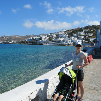 Greece with a baby
