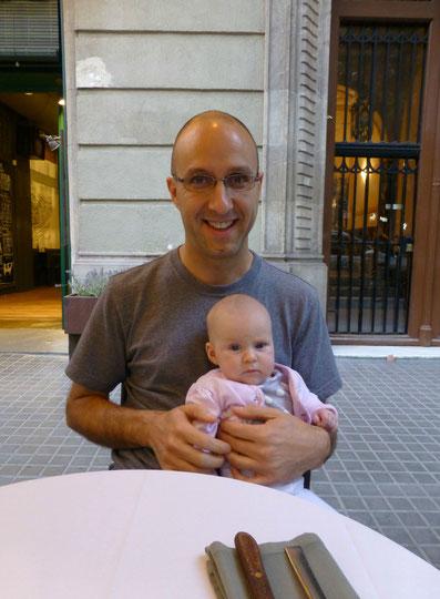 Barcelona Travel Baby
