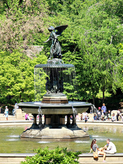 Central Park Fountain NYC