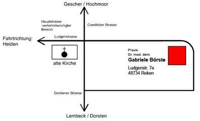 Dr. Gabriele Börste, Zahnarzt, Reken, Zahnarztpraxis Ludgeristraße 7e