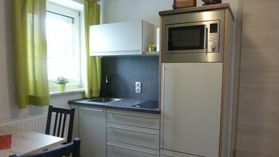 Gästehaus Erle Apartment Fellhorn Küche Ansicht
