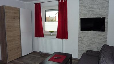 Gästehaus Erle Apartment Tegelberg Ansicht Wohnbereich