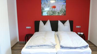 Gästehaus Erle Apartment Grünten Ansicht Schlafbereich