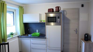 Gästehaus Erle Apartment Grünten Ansicht Küche