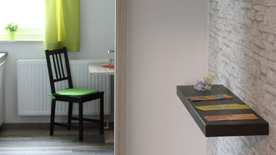 Gästehaus Erle Apartment Nebelhorn Flur Ansicht