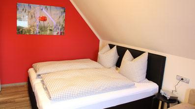 Gästehaus Erle Apartment Fellhorn Schlafbereich Ansicht
