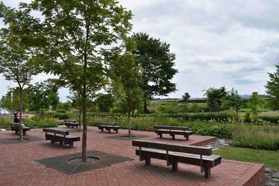 あさひかわ北彩都ガーデン アウネの広場