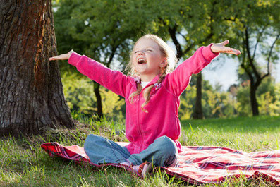 Bild: frei & glücklich sein