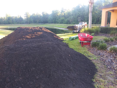 adding topsoil