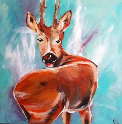 Acrylbild von Kerstin Heidrich
